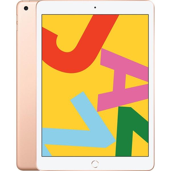 """Планшет Apple iPad 10.2"""" Wi-Fi 128GB Gold, золотой  - купить со скидкой"""