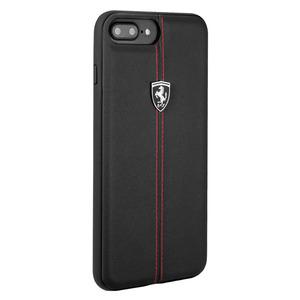 Ferrari Heritage Leather Hard Case для iPhone 8 Plus/7 Plus Black