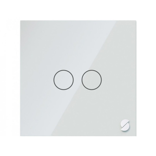 Беспроводной выключатель Sibling Powerlite-WS2W, белый