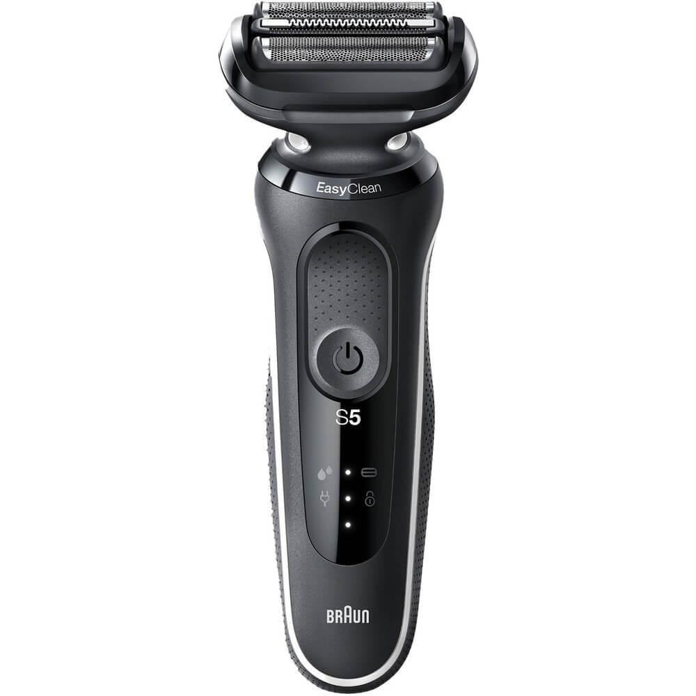 Электробритва мужская Braun Series 5 50-W1500s White черного цвета