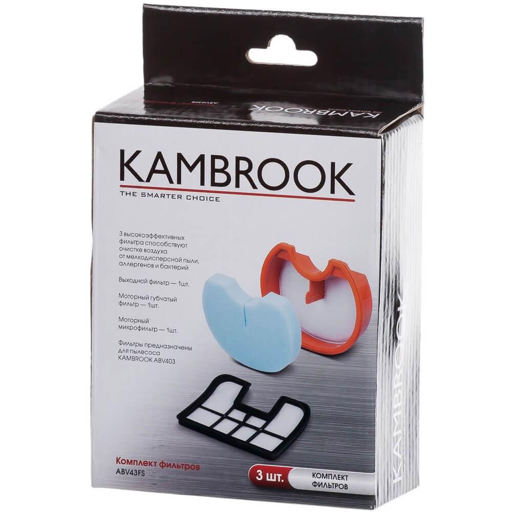 Фильтры для пылесоса Kambrook ABV43FS ABV43FS (Filter set)