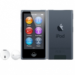 Цифровой плеер iPod Apple iPod Nano 16GB Slate