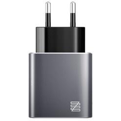 Зарядное устройство Lenzza Piazza MFi LPAWCMFI Gray