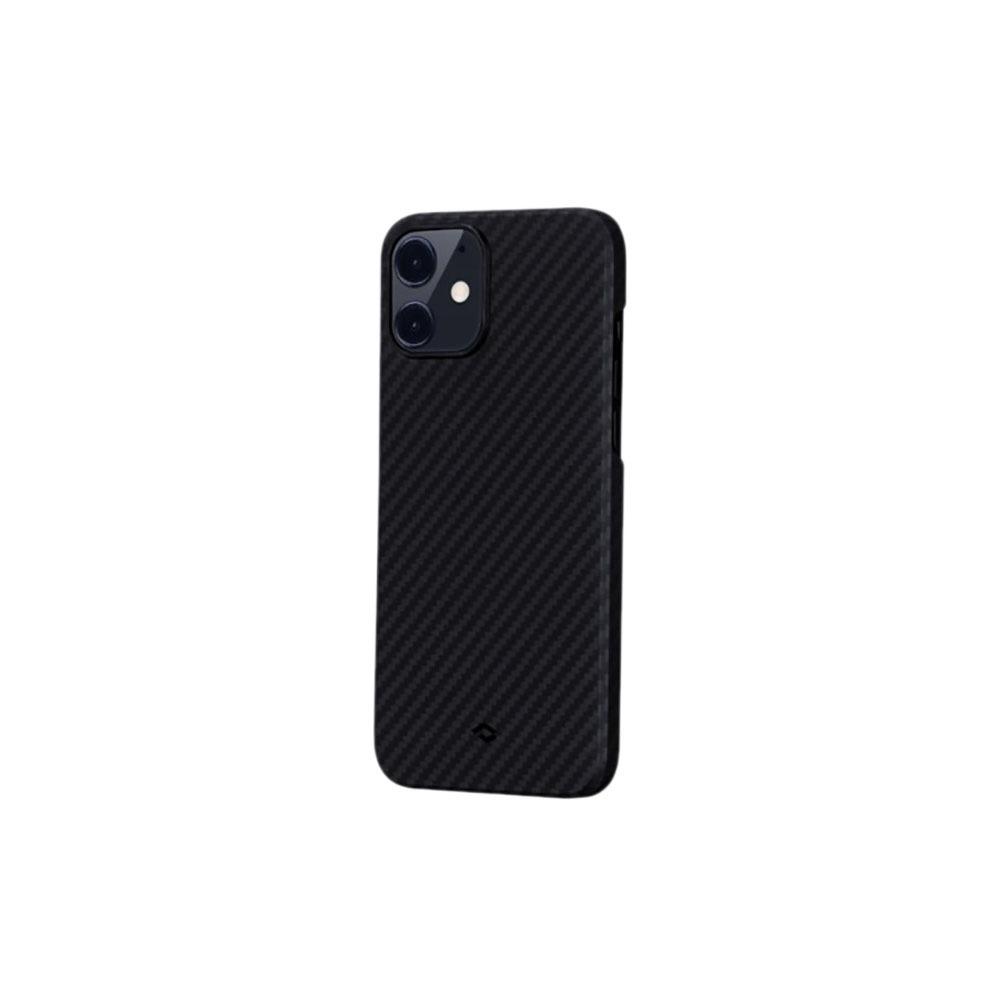 Чехол для смартфона Pitaka MagEZ KI1201 для Apple iPhone 12 Mini, чёрно-серый