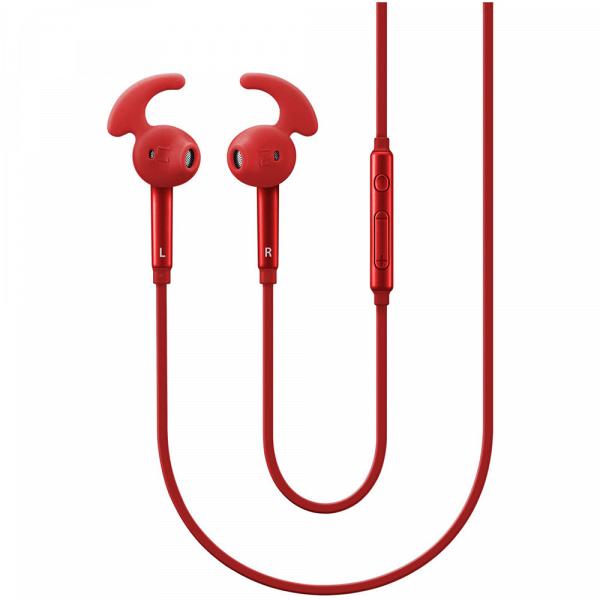 Наушники Samsung EO-EG920L (EO-EG920LREGRU), красный фото