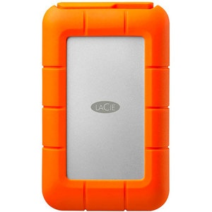 LaCie Rugged Mini LAC9000298 2Tb Light-grey/Orange