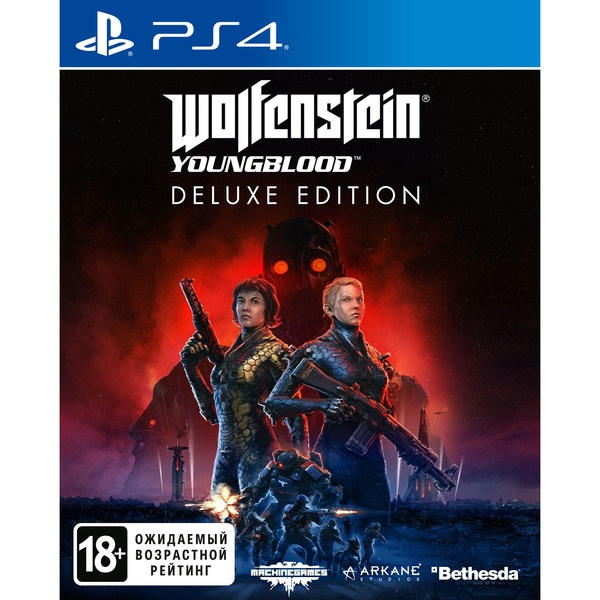 Wolfenstein: Youngblood. Deluxe Edition PS4, русская версия фото