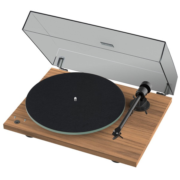 Проигрыватель виниловых пластинок Pro-Ject T1 Phono SB (OM 5E) Walnut.