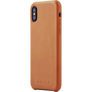 Mujjo Full Leather Case iPhone X бежевый (MUJJO-CS-095-TN)