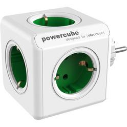 Переходник Allocacoc PowerCube Original зеленый (1100GN)