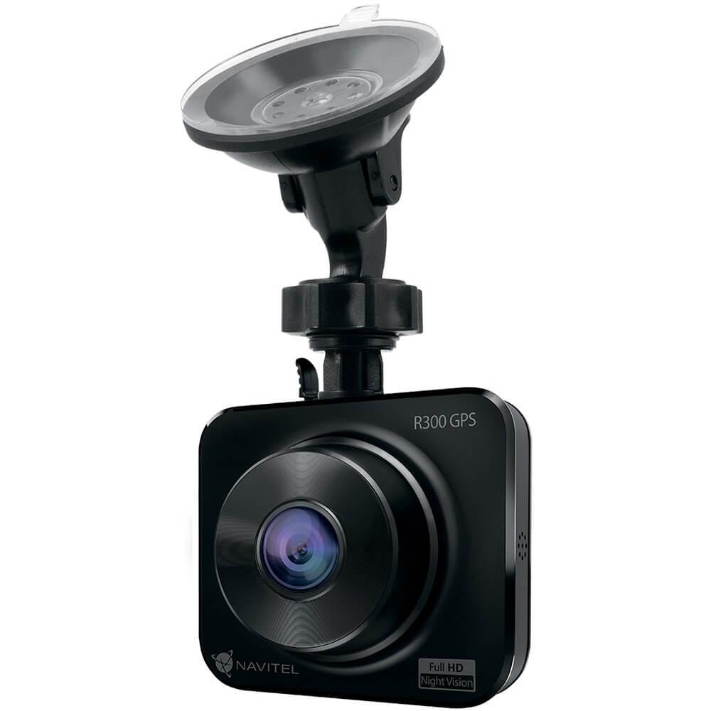 Видеорегистратор Navitel R300 GPS черного цвета