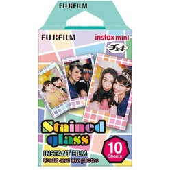 Аксессуар для фотоаппаратов мгновенной печати Fujifilm Instax Mini Stained glass 1 10/PK
