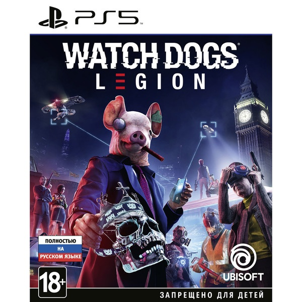 Watch Dogs: Legion PS5, русская версия Sony