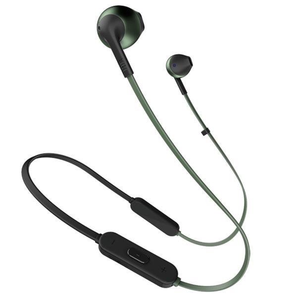 Наушники JBL Tune T205BT, зелёный фото