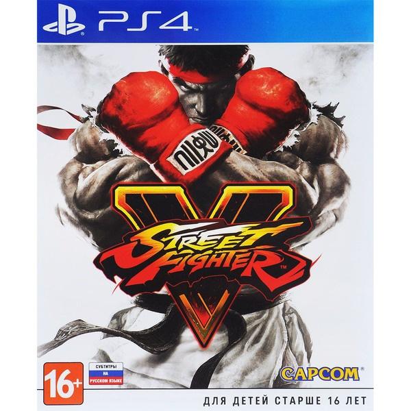 Street Fighter V PS4, русские субтитры фото