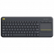 Logitech Wireless Touch Keyboard K400 Plus черная (920-007147)