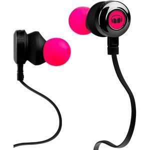 Наушники розовый Monster Clarity HD In-Ear 128668-00, неоновый розовый