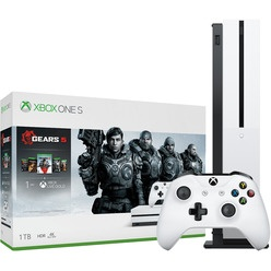 Игровая приставка Microsoft Xbox One S 1 TB (234-01030) Gears 5