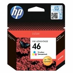 Картридж HP CZ638AE 46 цветной