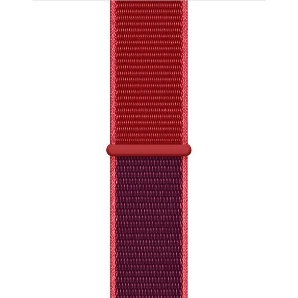 Ремешок для умных часов Apple Watch 40 мм, красный (MXHV2ZM/A)
