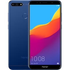 Безрамочный смартфоны Honor 7A Pro Blue