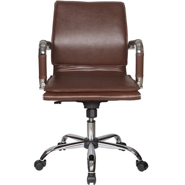 Компьютерное кресло Бюрократ CH-993-Low коричневый коричневого цвета
