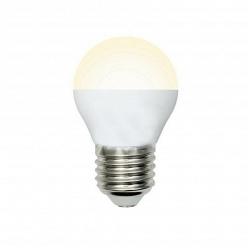 Лампа Volpe LED-G45-6W/WW/E27/FR/O G45