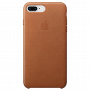 Apple iPhone 8 Plus/ 7 Plus Leather Case Saddle Brown