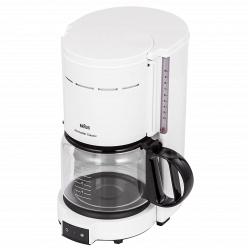 Кофеварка для молотого кофе Braun KF 47/1 белая