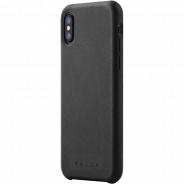 Mujjo Full Leather Case iPhone X черный (MUJJO-CS-095-BK)