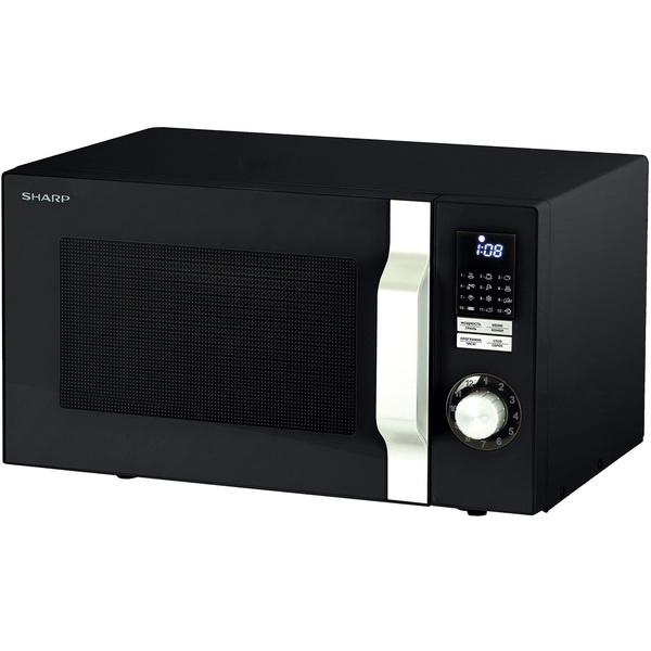 Микроволновая печь Sharp R7770RK черного цвета