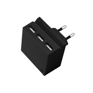 USBepower HIDE Mini , 3 IN 1, 3 USB-A, Black