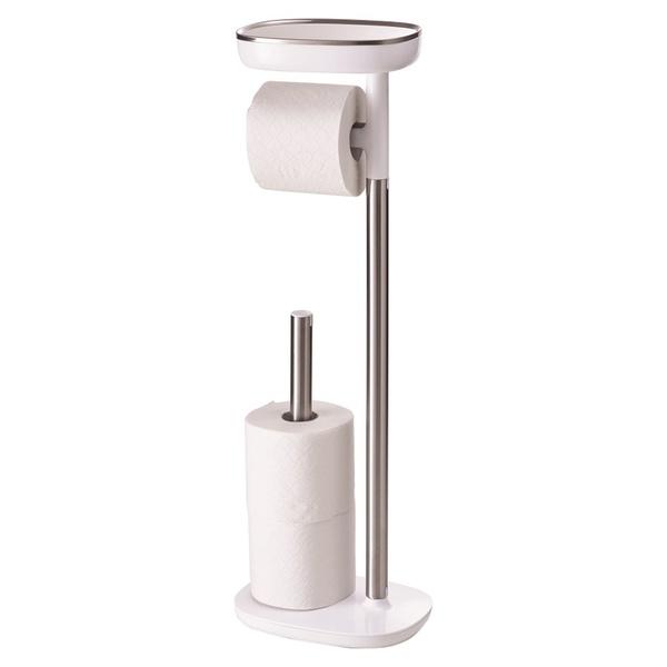 Купить Держатель для туалетной бумаги с подносом Joseph Joseph EasyStore 70518, EasyStore 70518 держатель для бумаги с подносом