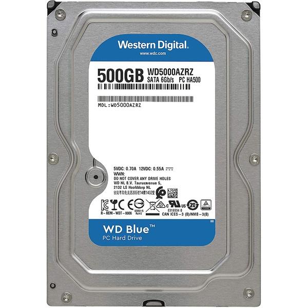 Внутренний HDD накопитель Western Digital 500GB 6GB/S 64MB BLUE WD5000AZRZ фото