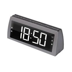 Электронные настольные часы Ritmix RRC-1850 Gray