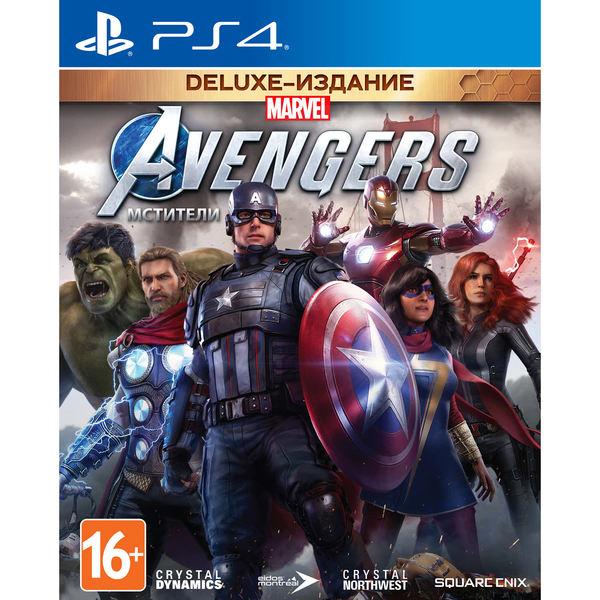 Мстители Marvel. Издание Deluxe, русская версия Sony Мстители Marvel. Издание Deluxe PS4, русская версия
