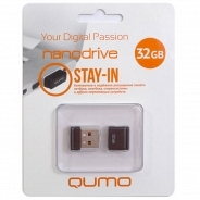 Qumo 32Gb Nano Drive Black 2.0 USB