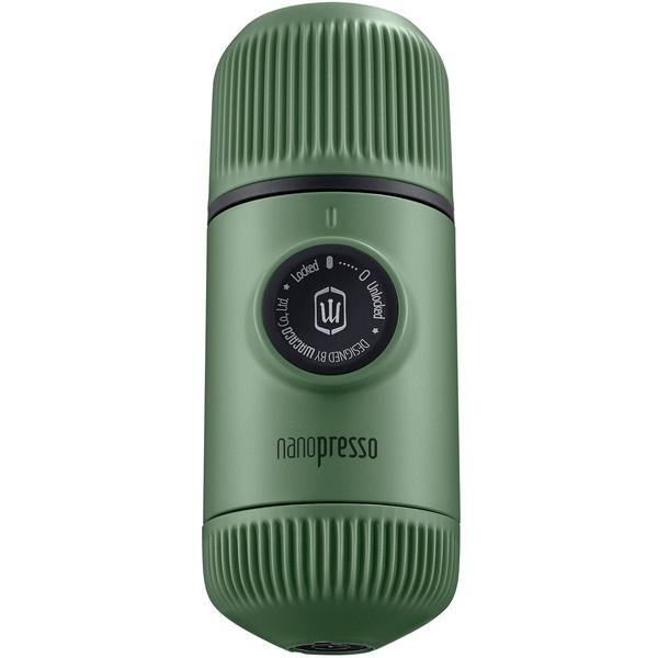 Капсульная кофемашина Wacaco Nanopresso WCCMSGR цвет зелёный