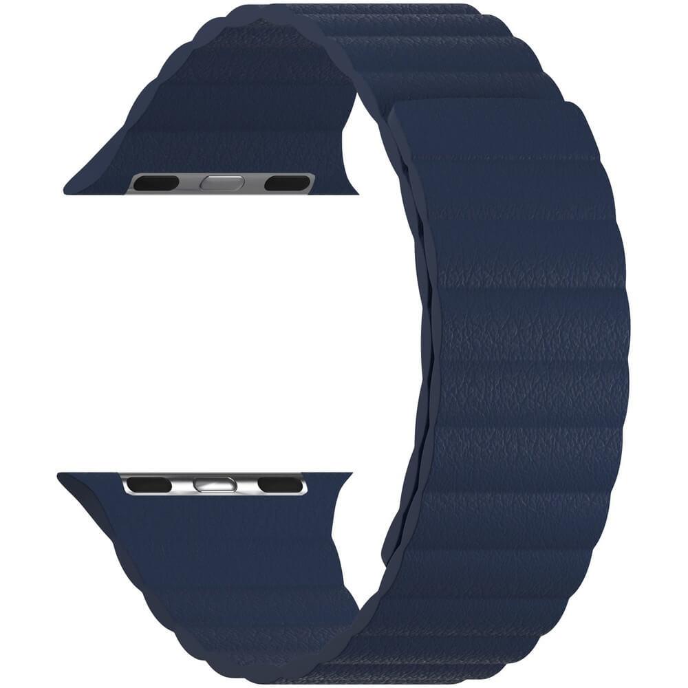 Ремешок для умных часов Lyambda Pollux 38/40 мм, тёмно-синий (DSP-24-40-DB) Pollux 38/40 мм, тёмно-синий (DSP-24-40-DB)