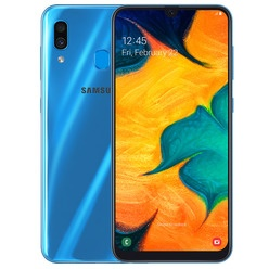 Смартфон Samsung Galaxy A30 32GB (2019) Blue