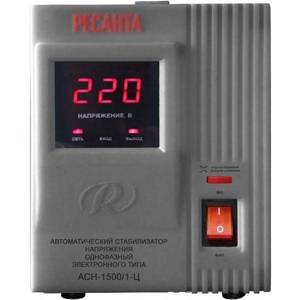 Стабилизатор напряжения Ресанта АСН- 1 500/1-Ц