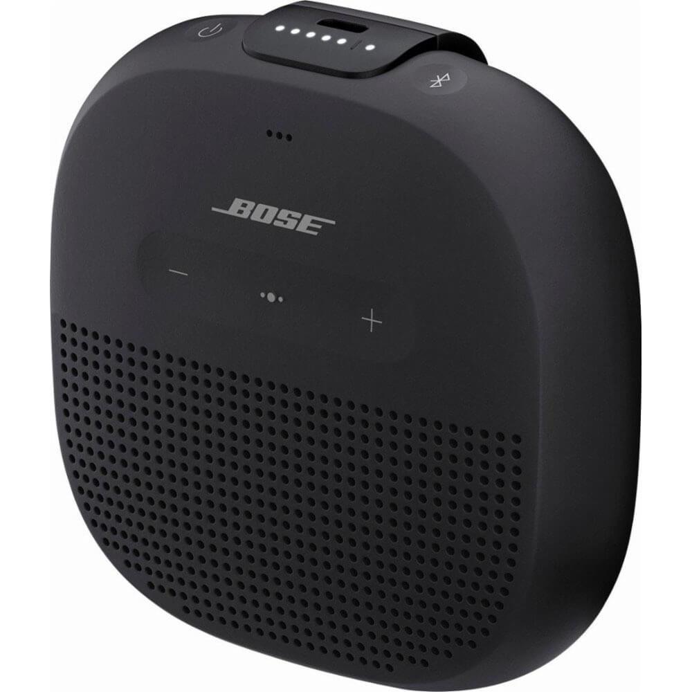 Портативная акустика Bose SoundLink Micro Black черного цвета
