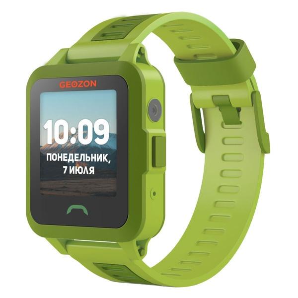 Детские умные часы GEOZON Active Green цвет зелёный
