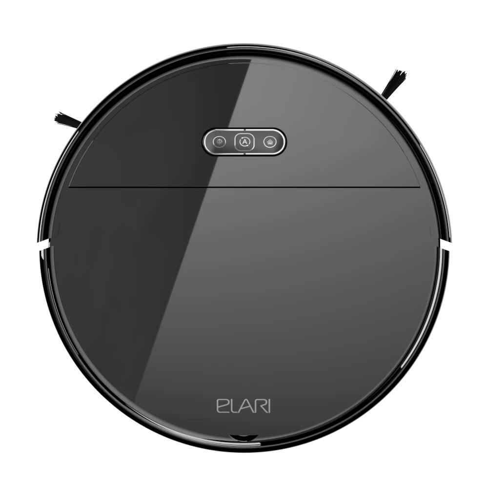 Робот-пылесос Elari SmartBot Brush SBT-001A, чёрный черного цвета
