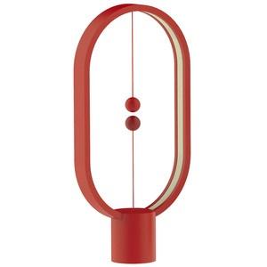 Heng Balance Lamp Ellipse Plastic, красный