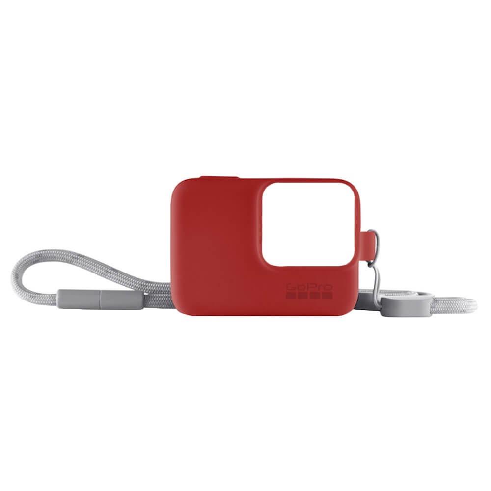 Силиконовый чехол GoPro ACSST-012 красный ACSST-012 силиконовый чехол с ремешком