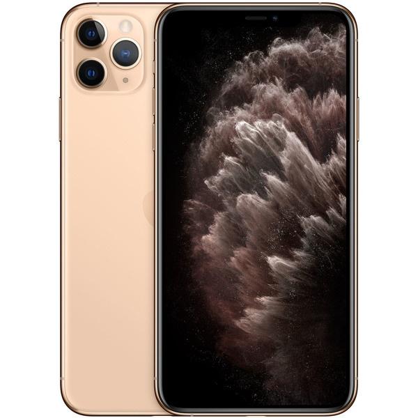 Смартфон Apple iPhone 11 Pro Max 256 ГБ золотой фото