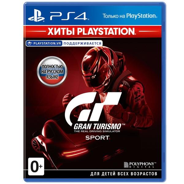 Gran Turismo Sport Хиты PlayStation (только для VR) PS4, русская версия фото