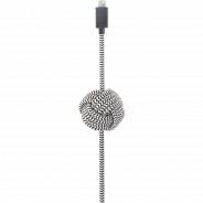 Native Union NCABLE-L-ZEB Night Cable, 3 м, зебра