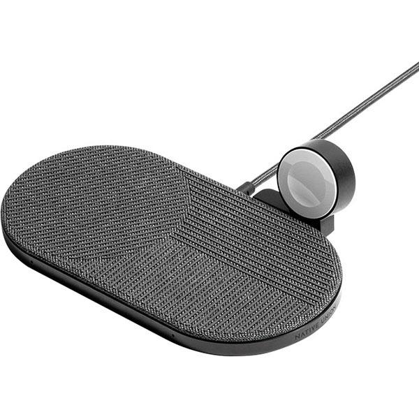 Беспроводное зарядное устройство Native Union Drop XL (Watch Edition) серый